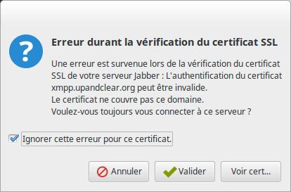 Erreur SSL
