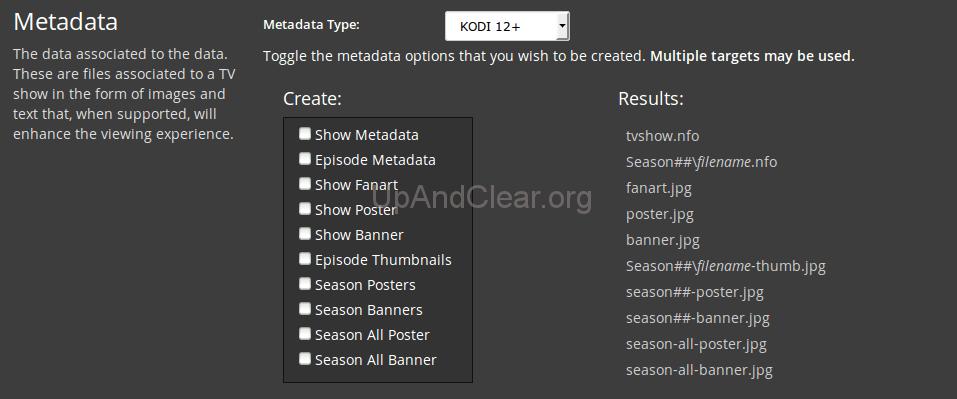 postProcessing/metadata